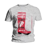 Camiseta The Rolling Stones Glastonbury Red Wellie