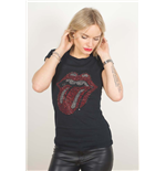 Camiseta The Rolling Stones Classic Tongue de mulherr