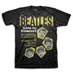 "Camiseta Beatles ""1962"" Live in Concert"