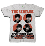 Camiseta Beatles Performing Live