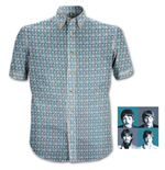 "Camisa The Beatles ""1967"" Heads Pattern"