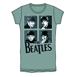 Camiseta Beatles de mulher Framed Faces