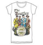 Camiseta Beatles de chica Sgt Pepper Band & Drum
