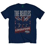 Camiseta Beatles Liverpool England 1962
