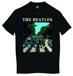 Camiseta Beatles Abbey Road & Logo