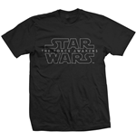 Camiseta Star Wars Force Awakens Logo