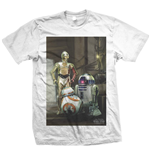 Camiseta Star Wars Three Droids