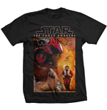Camiseta Star Wars Dameron Composition