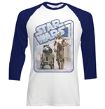 Camiseta Star Wars Retro Droids
