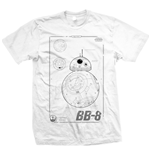 Camiseta Star Wars BB-8 Tech