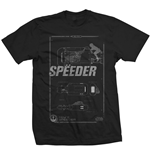Camiseta Star Wars Rey's Speeder Tech