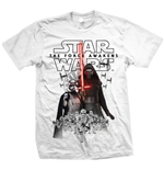 Camiseta Star Wars Episode VII New Villains