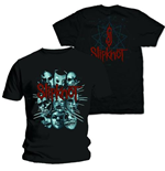 Camiseta Slipknot Masks 2