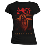 Camiseta Slayer de mulher Repentless Crucifix