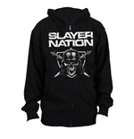 Suéter Esportivo Slayer unissex - Design: Slayer Nation