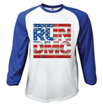 Camiseta manga comprida Run DMC Americana