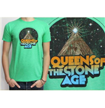 Camiseta Queens of the Stone Age Space Mountain