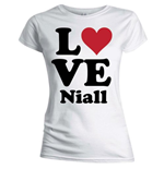 Camiseta One Direction de mulher Love Niall