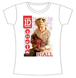 Camiseta One Direction de mulher 1D Niall Symbol Field