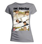 Camiseta One Direction de mulher Band Sliced