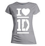 Camiseta One Direction de mulher - I Love