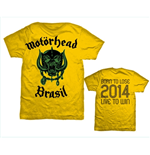 Camiseta Motorhead World Cup Brazil