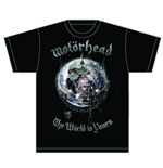 Camiseta Motorhead The World is your Album
