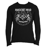 Camiseta manga longa Machine Head Classic Crest