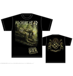 Camiseta Machine Head de homem - Design: Scratch Diamond Cover