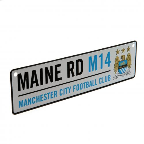 Placa Manchester City FC Main Road