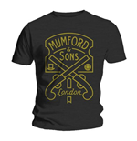 Camiseta Mumford And Sons Pistol Label