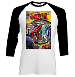 Camiseta manga longa Marvel Superheroes de homem - Design: Dare-devil Comic