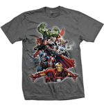 Camiseta Marvel Super-heróis Big Group