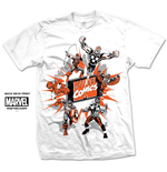 Camiseta Marvel Superheroes 189928