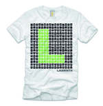 Camiseta Labrinth de homem - Design: Space Invaders
