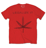 Camiseta Peter Tosh de homem - Design: Legalize It