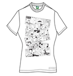 Camiseta Moomin de mujer oomin Falls In Love Comic Strip