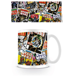 Star Wars Caneca Comic Covers