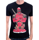 Camiseta Deadpool Deadpool Pose Black