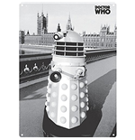 Chapa Metal Doctor Who  - Dalek