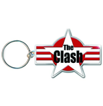 Chaveiro de Metal The Clash - Star & Stripes
