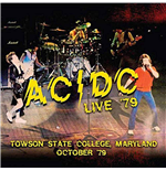 Vinil Ac/Dc - Live '79 - Towson State College, Maryland October '79 (2 Lp) 180gr