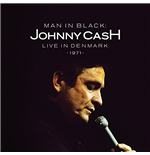 "Vinil Johnny Cash - Man In Black Live In Demark 1971 (2 12"")"