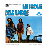 Vinil Piero Umiliani - Le Isole Dell'amore 180gr (Ltd.Ed.Transparent Blue Vinyl)