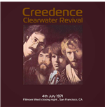 Vinil Creedence Clearwater Revival - Live At Fillmore West Close Night July 4  1971 Ksan Fm