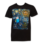 Camiseta Hora de aventuras Starry Night