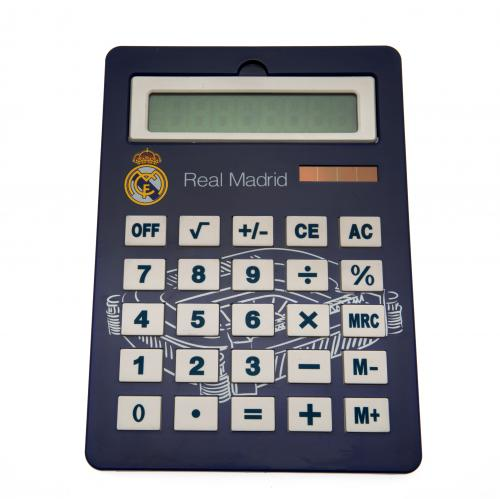 Calculadora jumbo Real Madrid