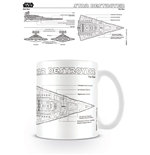 Star Wars Caneca Star Destroyer Sketch