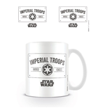 Star Wars Caneca Imperial Troops