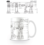Star Wars Caneca AT-AT Sketch